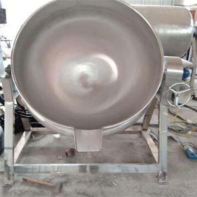 400生产定制八宝粥燃气可似式夹层锅
