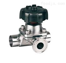 进口卫生级L型隔膜阀(德国奥莱斯VALVE品牌)