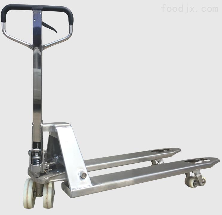304不锈钢手动液压叉车
