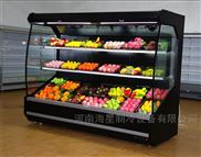 鄭州哪里有賣水果蔬菜風幕柜超市水果展示柜