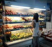 安徽宣城定做三米水果超市风幕柜多少钱