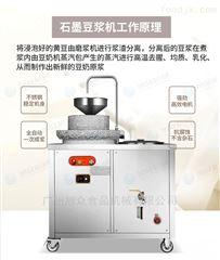 XZ-350商用大豆原浆电动石磨豆浆机*