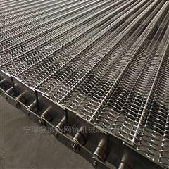 铺板机挡板式网链