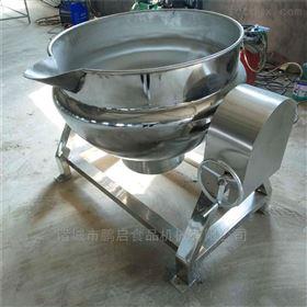 全自动鸭胗卤制用夹层锅*