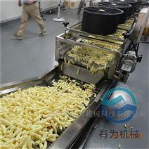 大型薯片油炸流水线