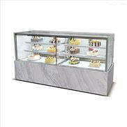 欧式面包柜蛋糕冷藏柜直角蛋糕展示柜定制