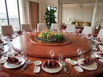 大型电动餐桌 樵森家具直销 酒店转盘餐桌