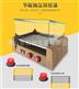 商用家用小型自动台湾热狗机 火山石烤肠机