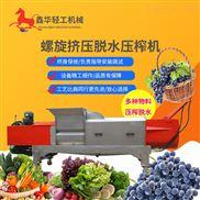 厂家供应全自动液压系统小型压榨机 水果蔬菜专用压榨机选鑫华轻工