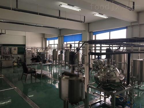 不锈钢乳饮料生产线