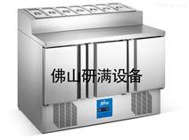 研滿商用制冷設備冷藏沙拉工作操作臺廠家