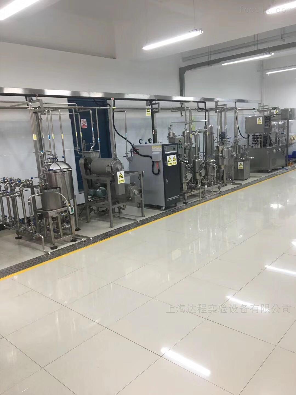 实验型果汁生产线组成