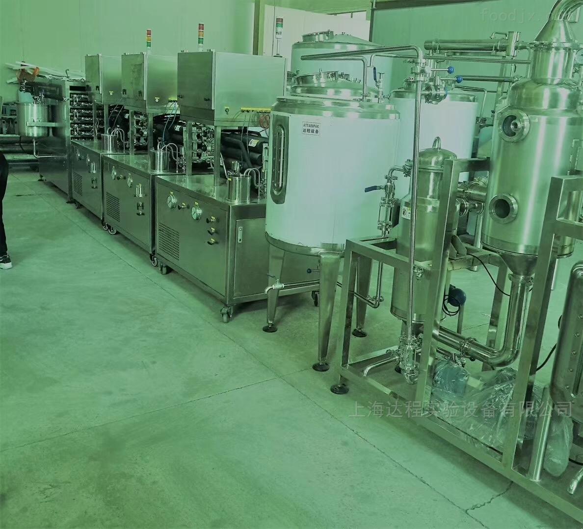 小型保健品口服液生产线