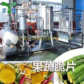 全自动蔬菜脱水油炸机