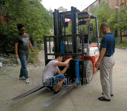 1-5吨燃油叉车改装称重系统