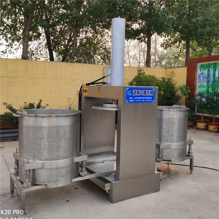 立式双桶压榨机