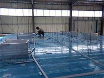 河南漯河食品厂装修隔断板吊顶净化车间施工
