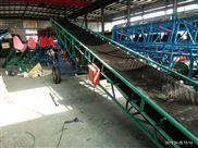 12米电动升降爬坡皮带饲料输送机
