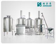 18-18-6灌裝機-山東赫爾曼廠家直銷釀酒生產線啤酒發酵設備