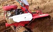 大葱开沟培土机