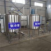 牛奶专用不锈钢酸奶发酵罐 羊奶巴氏杀菌机