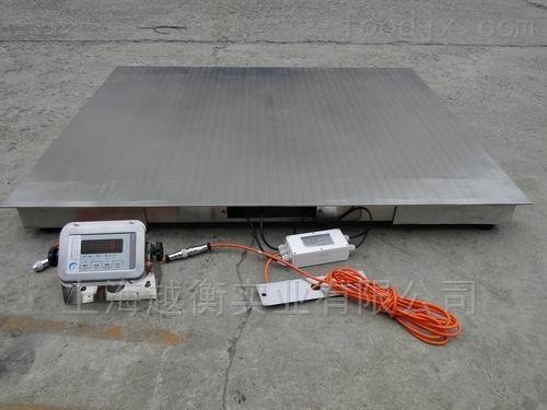 潔凈區用304不銹鋼電子磅稱,5T地衡