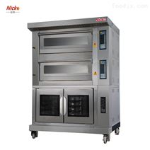 尼科组合炉系列 四盘烤炉+10盘醒发设备