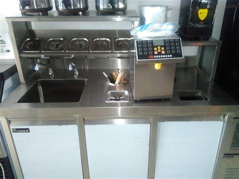 水吧操作臺奶茶機器