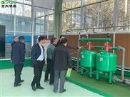 泗水县水利领导到施肥机厂家圣大节水考察