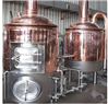 500L德式不锈钢精酿啤酒糖化设备