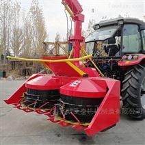 2米4青储机四轮玉米秸秆收割机