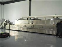 西安隧道式紡織品干燥機 人造絲微波烘干箱