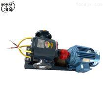沥青泵WZYB29外润滑保温泵 合金齿轮泵