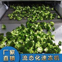 蔬菜流態化速凍機設備