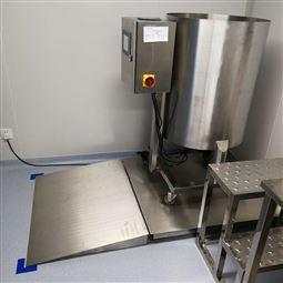 无锡1吨不锈钢平台秤 2000kg防生锈地磅