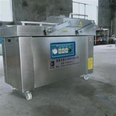600型号供应全自动连续式兔子肉真空包装机