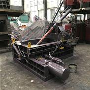 臥式液壓金屬打包機廢鋼刨花壓塊機
