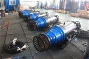 防洪泵站用的卧用潜水轴流离心泵