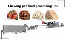 狗咬胶/咬胶制粒/洁齿骨生产线//宠物食品