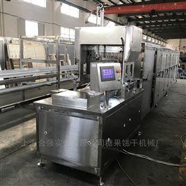 上海合强扁平梨膏棒糖浇注机 小型糖果设备