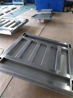 济南2吨不锈钢地磅 1.5*1.5m防腐蚀平台秤