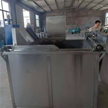 供應新品牛肉全自動油炸鍋流水線  廠家
