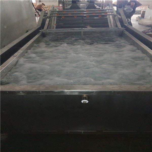 厂家生产多功能茼蒿高压喷淋气泡清洗机