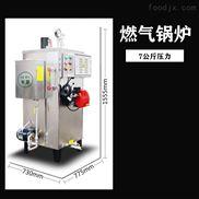 食品蒸煮锅炉无需预热环保蒸汽发生器
