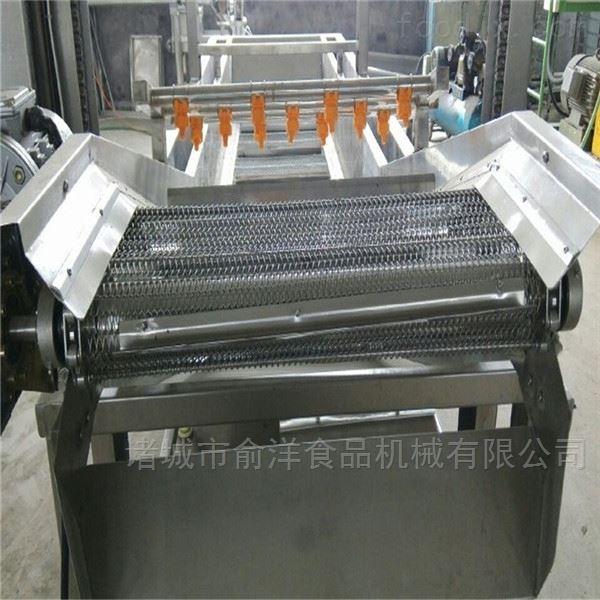 厂家*多功能青萝卜高压喷淋气泡清洗机