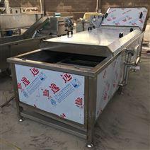 东北粘玉米蒸煮流水线设备-连续预煮机