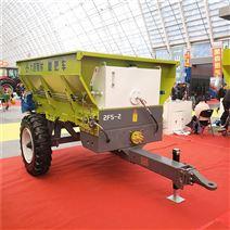 廠家直銷進口(kou)大型有機肥撒糞機 農用(yong)撒肥車