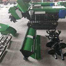 遙控(kong)式履帶開溝機 施肥回(hui)填旋耕一體機