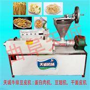 大豆蛋白肉机 天诚豆皮机设备