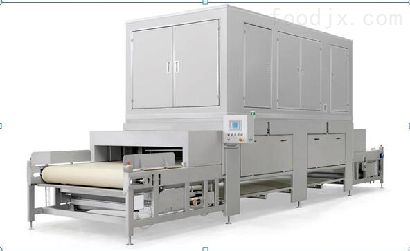 隧道式海鲜 水产微波解冻机 肉制品缓化设备